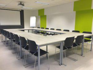 Bild von einem Seminarraum